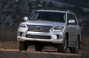 Lexus LX Oman March 2012