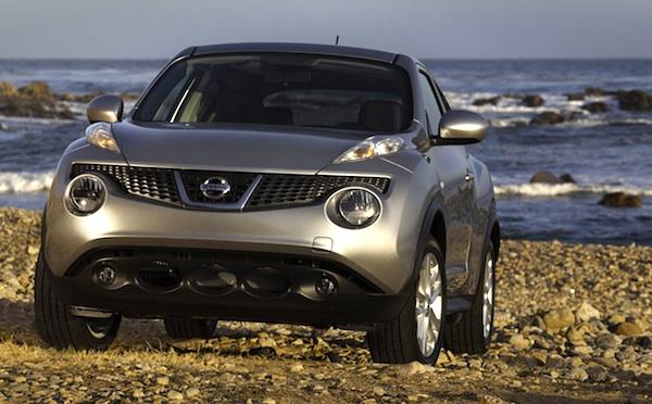 Nissan Juke Israel April 2012