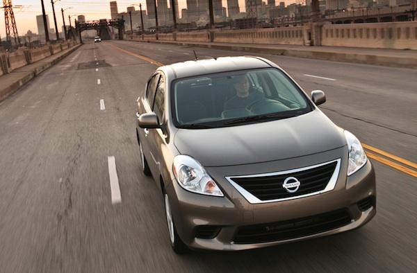 Nissan Versa Puerto Rico May 2013