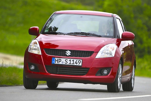 Suzuki Swift World April 2012