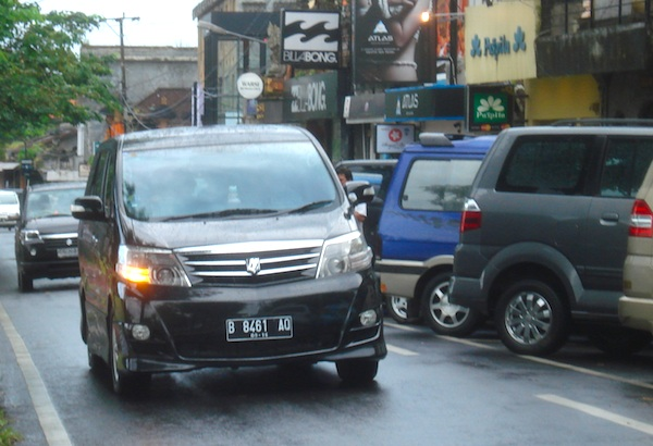 Toyota Alphard Indonesia April 2012