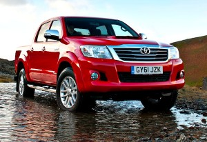 Toyota Hilux Oman March 2012