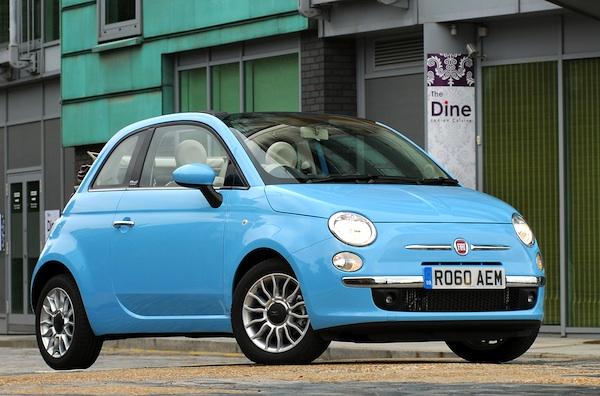 Fiat 500 UK September 2014
