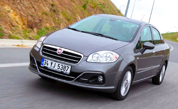 Fiat Linea Turkey September 2014