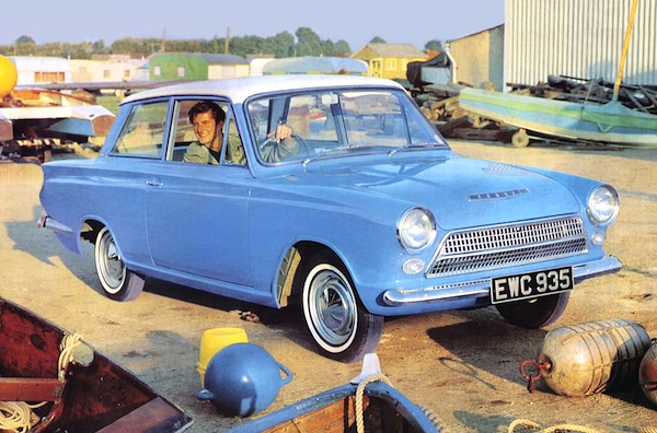 Ford Cortina Norway 1963