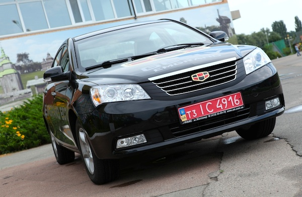 Geely Emgrand EC7 Ukraine May 2012