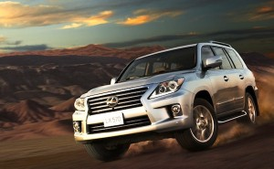 Lexus LX Qatar May 2012