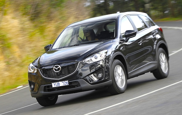 Mazda CX-5 Australia January 2014. Picture courtesy of caradvice.com.au