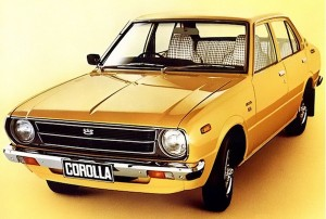 Toyota Corolla Norway 1975