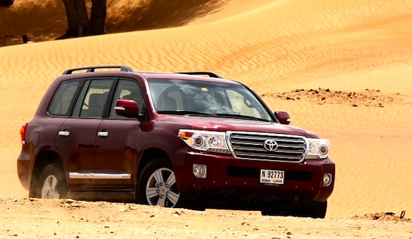 Toyota Land Cruiser UAE May 2012 b