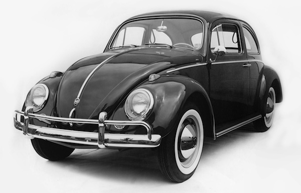 VW Beetle Sweden 1950
