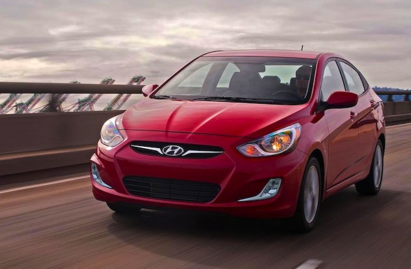Hyundai Accent Puerto Rico June 2014