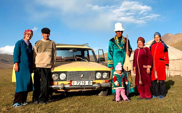 Kyrgyzstan family