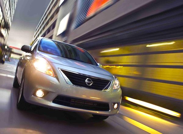 Nissan Versa Mexico 2013