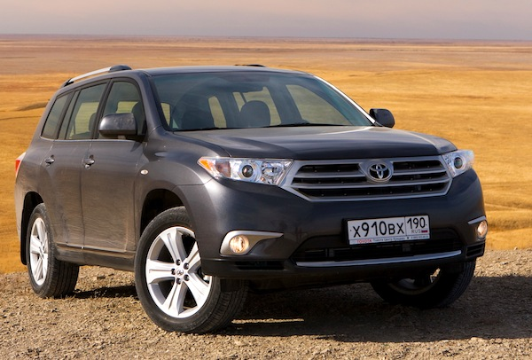 new zealand june 2012 toyota highlander 4 in market up