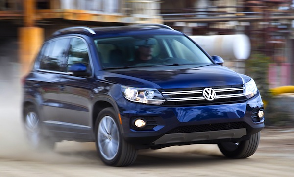 VW Tiguan China August 2014. Picture courtesy of motortrend.com