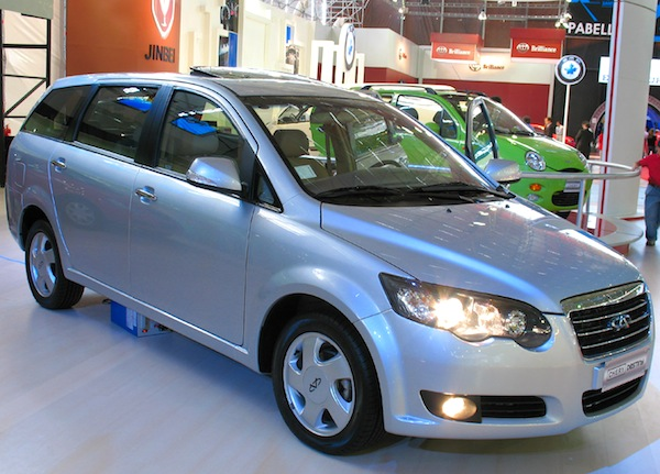Chery Destiny Chile 2012