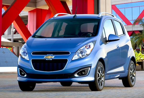 Chevrolet Spark USA May 2014