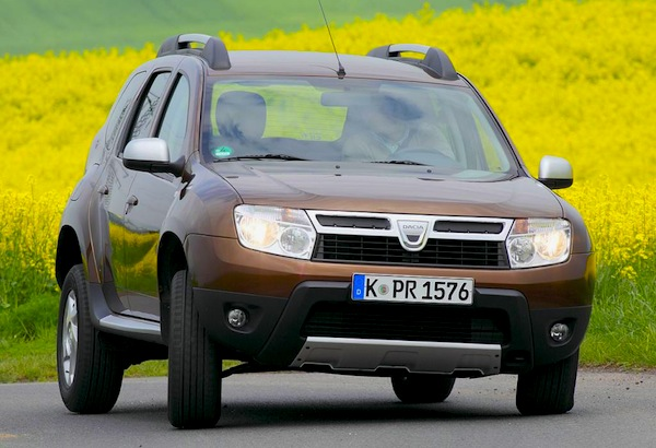 Germany July 2012 Private Sales Dacia Duster 7 Best Selling