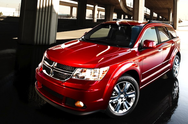 Dodge Journey Canada July 2012