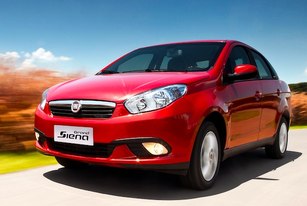 Fiat Siena Uruguay March 2014