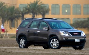 GMC Acadia Saudi Arabia June 2012