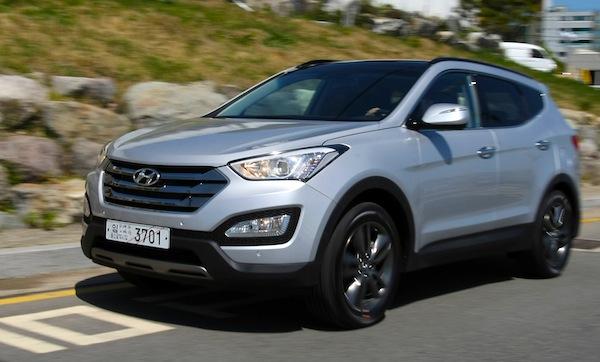 South Korea July 2012 Hyundai Avante Leads Santa Fe 4