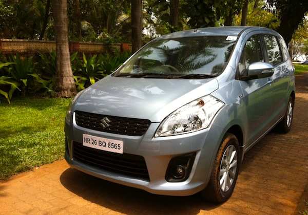 Maruti Ertiga India June 2013