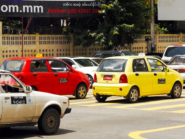 Myanmar New Face Taxis