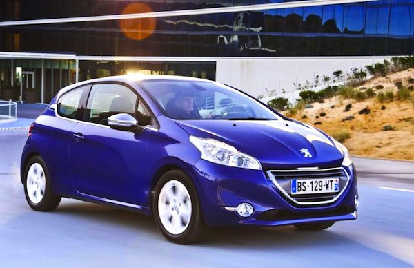 France July 2012 UPDATE: Peugeot 208 already in pole position ...