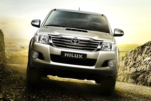 Toyota Hilux Thailand July 2012