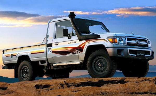 Toyota Land Cruiser Pick-up Oman June 2012