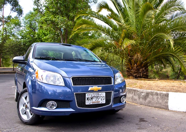 Mexican Chevrolet Aveo 2014 | Autos Post