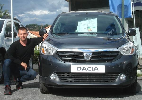 Dacia Lodgy Matt France August 2012