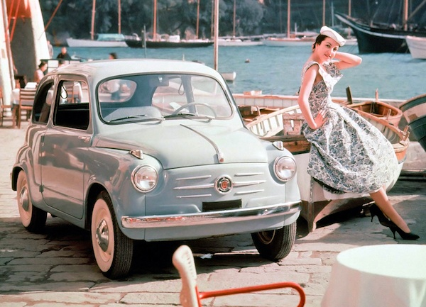 Fiat 600 Italy 1962