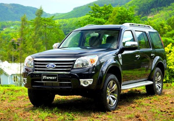 Ford Everest Vietnam August 2012