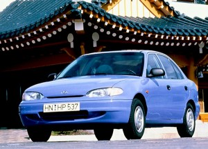 Hyundai Accent Spain 1996