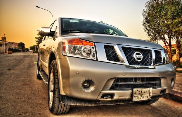 Nissan Armada GCC July 2012