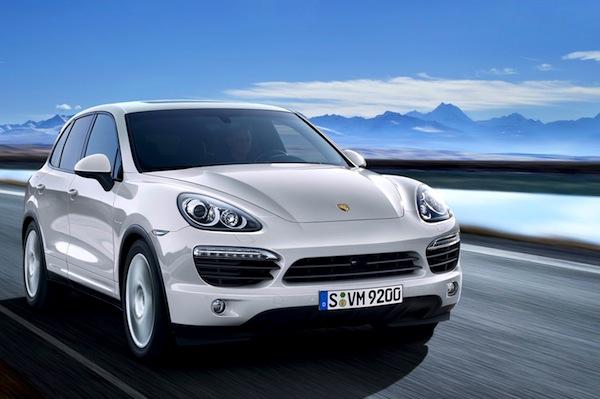Porsche Cayenne Taiwan 2013