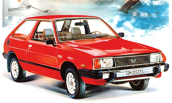 Subaru Leone Switzerland 1984