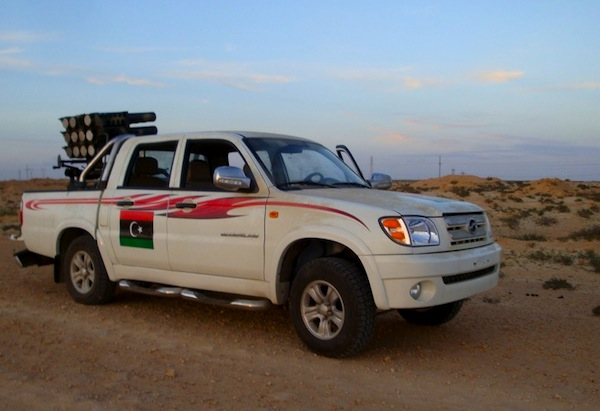 Libya Zx Auto Grandtiger Replaces Toyota Hilux As Rebels Choice