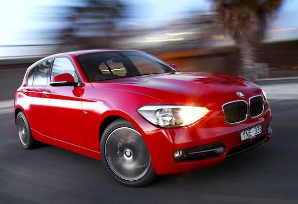 BMW 1 Series UK May 2014