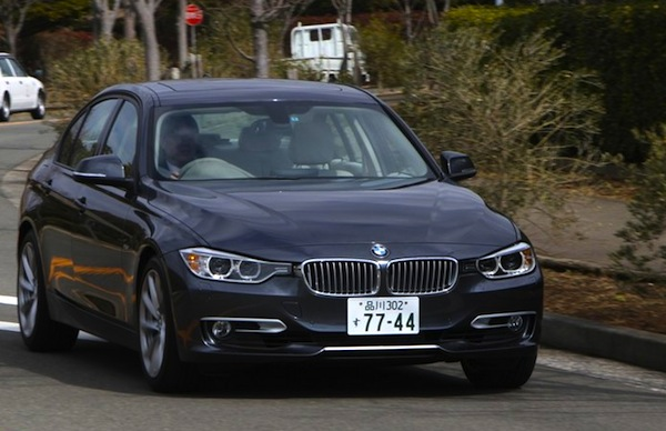 BMW 3 Series Japan September 2012