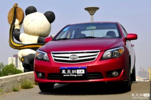BYD L3 China September 2012