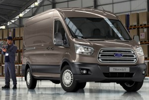 Ford Transit UK September 2012