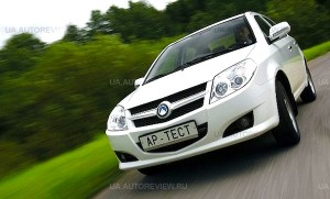Geely MK Ukraine September 2012