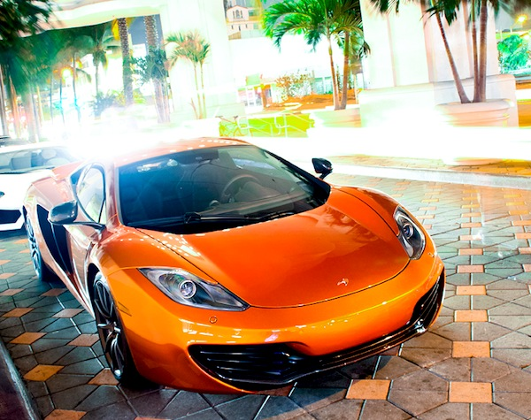 McLaren MP4-12C Hong Kong August 2012