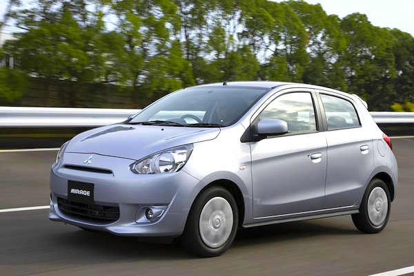 Mitsubishi Mirage Indonesia September 2012