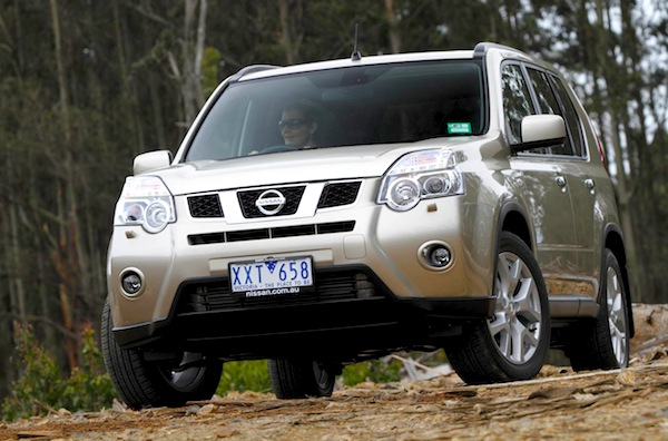 Nissan X-Trail Australia September 2012