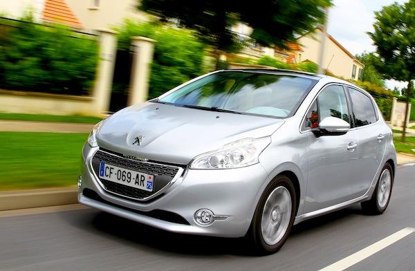 Peugeot 208 Europe 2012